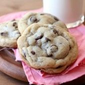 NY Times Chocolate Chip Cookies | Baked by Rachel