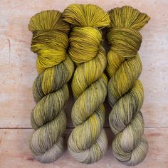 Hand dyed in a range of beautiful tonal, variegated & speckled shades. Acid Dyes, Grass Field, Hand Dyed Yarn, Needles Sizes, Yarns, Light In The Dark, Fiber, Heaven, Shades