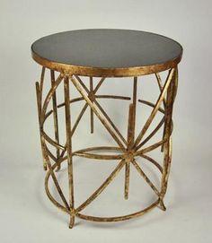 Unique coffee table.  I like it.  Mecox Gardens Blog