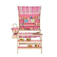 Houten Winkel roze