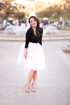tulle skirts, pink tulle skirt, style by alina, fashion blog, maternity style, petite fashion