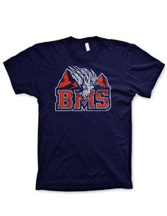 381184e3 Black Friday Blue Mountain State tshirt funny t shirt football shirt  mountain goats shirt, Large from Guerrilla Tees Cyber Monday