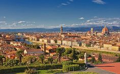 Florence, Italy- always the best, never tired of seeing this place. Best leather desingers