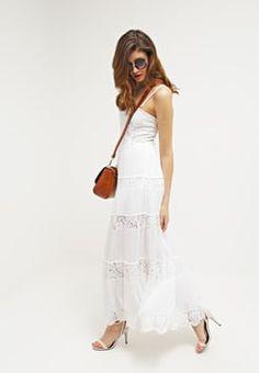 Guess - ROSALIE  - Długa sukienka - blanc