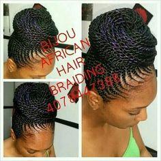 Bijou African Hair Braiding is the best !!#