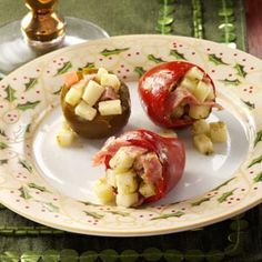 Pepper Shooters Recipe -Pop one of these savory peppers into your mouth for a tantalizing array of flavors. It's like an antipasto platter all in one bite.—Taste of Home Test Kitchen,
