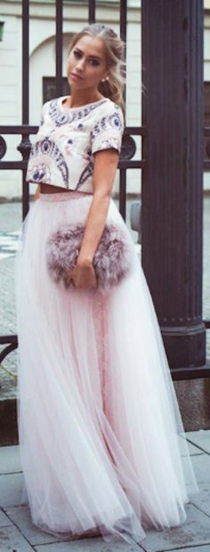 long pink tulle skirt http://rstyle.me/n/iwy6yr9te