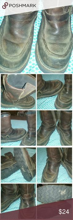 Men's Size 8.5 Boots Great Condition! Men's Size 8.5 Boots Great Condition! Brand is Wood N Stream... But they look like Georgia Boots!!! :) Shoes Boots