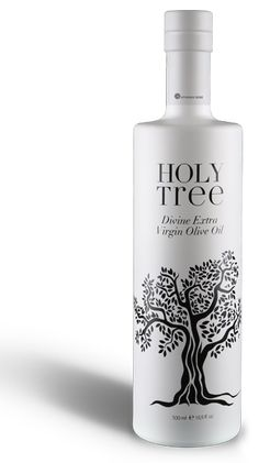 Holy Tree Extra Virgin Olive oil from Greece. Variety: Chalkidiki Chondroelia and Ladoelia Selected by www.soilandsun.co.uk Finest and Eclectic Foods, London,UK
