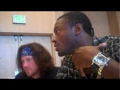 SDCC 2010 - Leverage - Christian Kane and Aldis Hodge Interview (Part 2)