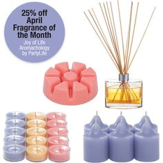 April fragrance of the month - Joy of Life Aromachology by #PartyLite
