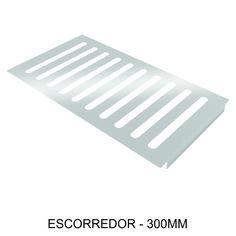 ESCORREDOR - 300mm Ideal para escorrer água de objetos, com copas e taças.