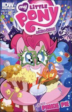 all idw comics books | My Little Pony Micro-Series 5-B by IDW