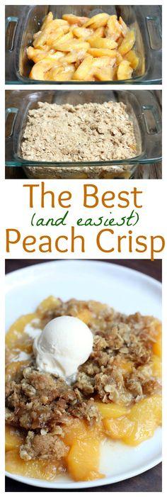 Peach Crisp