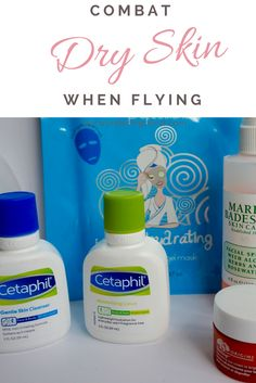 The Perfect Skincare Routine When Flying - Combat Dry Skin
