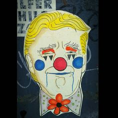 Countdown to #clown town #trump  #wheatpaste #pasteup #Williamsburg #streetart #Brooklyn #urbanart #NYC #NewYork #photography