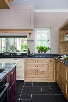 'Tonbridge bespoke hand-made kitchen.' Lewis...