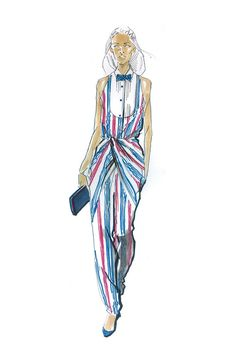 Fashion Design Sketches Clothing Beautiful Ideas For 2019 Wedding Guest Style, Dress Sketches, Fashion Design Sketches, Summer Dresses, My Style, How To Wear, Beautiful, Malia Obama, Michelle Obama