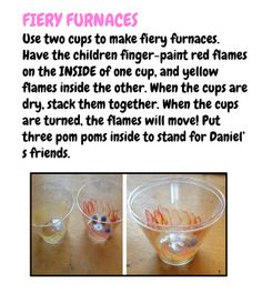 Here's a simple craft for a lesson about Shadrach, Meshach, and Abednego in the… Bible Story Crafts, Bible Crafts For Kids, Vbs Crafts, Church Crafts, Bible Stories, Craft Stick Crafts, Craft Sticks, Mini Craft, Craft Ideas