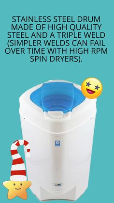 Nina Soft Spin Dryer Laundry Alternative Spin Dryers Portable