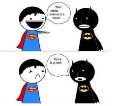 Superman, Batman, Humor,