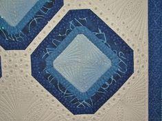 Closeup of Sapphires Quilt