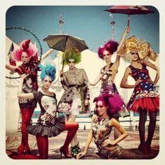 La magia del Cirque du Solei, by Desigual. Wish I could see all the Cirque shows!!!