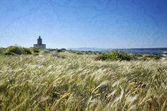 (c) Ana Zaragoza. Wonderful Tabarca Island Lighthouse in Alicante, Valencia, Spain.