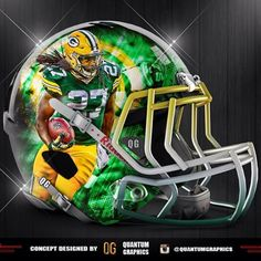 Eddie Lacy player helmet concept!! I haven't posted any of these in a little while so I figured I would make a few! Let me know what you guys think about this one! #GreenBay #Packers #GreenBayPackers #GB #NFL #Football #sport #sports #sportsposters #ESPN #REVO #REVOSPEED #Helmet #Concept #FootballSeason #GoPackGo #PackersNation #PackerNation #Lambeau #EddieLacy #Cheesehead #Cheeseheads #GreenandYellow #27 #GoPackers @eddielacy @packers