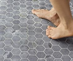 TK-243 Tulikivi Hexagon - Tulikivi verkkokauppa Floor Ceiling, Tile Floor, Soapstone Tile, Best Bathroom Tiles, Bathroom Ideas, Hexagon Tiles, Craftsman, House Design, Flooring