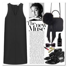 Black slevless dress by runway2street on Polyvore featuring polyvore fashion style Non Anouki The Volon arbū clothing