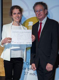 Remise des prix par Philippe Janvier, membre de l'Académie des sciences - Photo SAAMD2