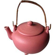 Great Rookwood Pottery Teapot @rubylanecom #VintagePottery #rubylane