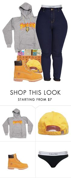 """Fall '16"" by alexanderbianca ❤ liked on Polyvore featuring Timberland, Topshop and Forever 21"