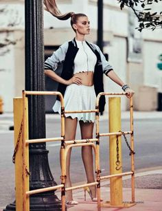vogue photoshoot alexander liubomirski photography NY elegant sportswear