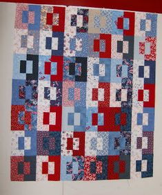 Quilts by Kathie: Design Wall Monday (memorial day)
