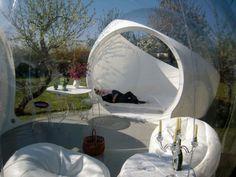a Bubble House