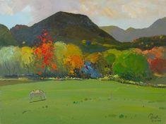 Autumn 2008, Oil on Canvas, 80 x 60 Cm - Pashk Pervathi