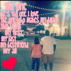 You truly make my heart skip beats (: