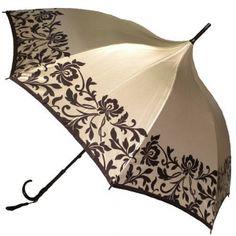 Italian Style Silky Satin Parasol @ www.let-it-rain.com