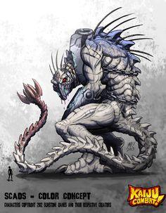 Kaiju Combat - Scaos by KaijuSamurai.deviantart.com on @deviantART