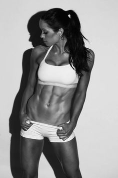If I could have any body in the world, I would strive to have hers. Feminine and strong. It's possible to have both..