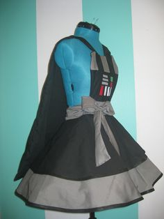 Darth Vader apron! For all of your dark side baking needs!