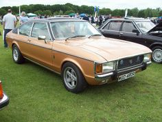 1976 Ford Granada Ghia Coupe Auto (Engine OHV) The Mark 1 Ford Granada was launched in March 1972 replacing the Zephyr + Zodiac Mk. Retro Cars, Vintage Cars, Antique Cars, Ford Motor Company, Classic Motors, Classic Cars, Ford Granada, Mens Toys, British Sports Cars