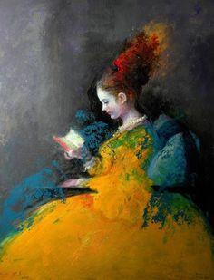 """bibliolectors: """" Colores a la lectura (ilustración de Benito Cerna) """""""