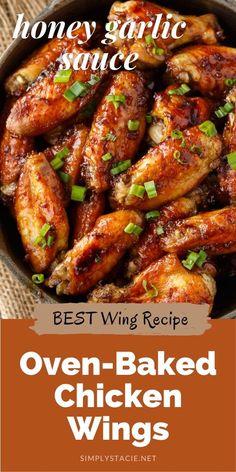 Garlic Recipes, Baked Chicken Recipes, Healthy Chicken, Chicken Thigh Recipes Oven, Chicken Drummettes Recipes, Best Chicken Thigh Recipe, Pineapple Chicken Recipes, Chicken Drumstick Recipes, Frango Chicken