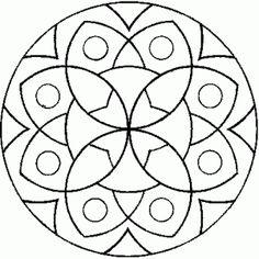 Mandala #mandala #mandalas #coloriage