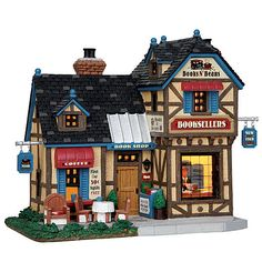 Lemax Village Collection Christmas Village Building, Books N' Beans Booksellers