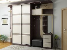 Hallways in the corridor with a wardrobe - 30 photos in the interior Wardrobe Boxes, Wardrobe Drawers, Hall Furniture, Furniture Design, Best Closet Organization, Bamboo Room Divider, Bed Frame Design, Bedroom Cupboards, Shoe Storage Cabinet