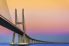 Ponte Vasco da Gama, Lisboa. (Vasco da Gama Brigde, Lisbon)
